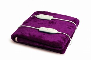 Expressions Double Super Soft Mink Electric Bed Warmer